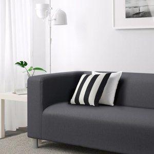 IKEA KLIPPAN Loveseat Cover NWT Gray